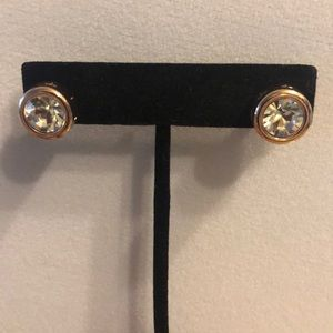 Rose Gold Tahari stud earrings